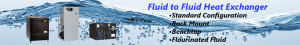 Fluid to Fluid Heat Exchangers from BV Thermal Systems