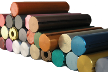 Anodized Cylinders