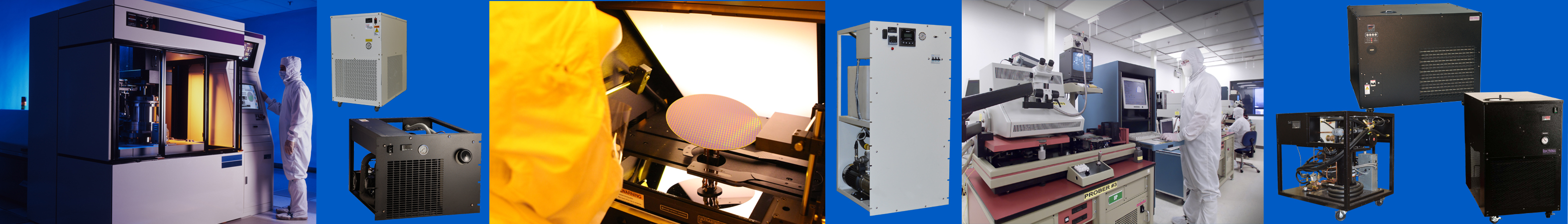 Chillers and Heat Exchangers from BV Thermal Systems used in the Semiconductor Industry