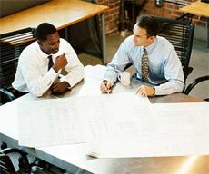 Example of Engineering Meeting at Budzar Industries