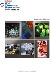 BV Thermal Systems Catalog