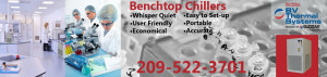 Benchtop-Chillers from BV Thermal Systems