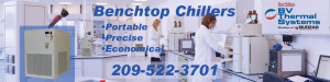 Benchtop Chillers from BV Thermal Systems