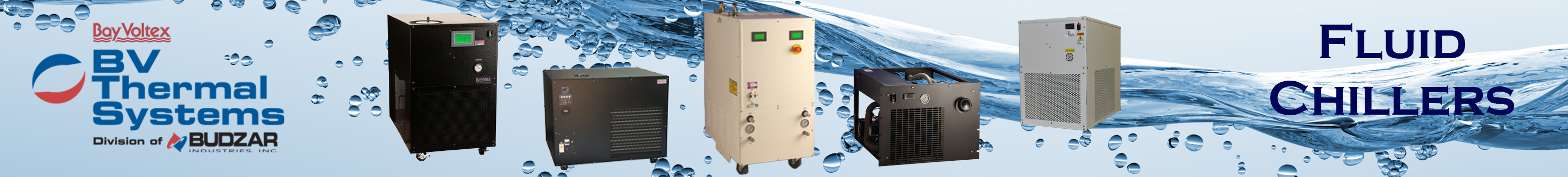 Fluid Chillers from BV Thermal Systems